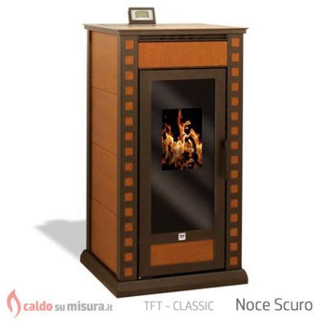 TFT classic noce scuro termostufa pellet