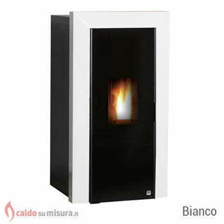 TFT specchio bianco termostufa pellet
