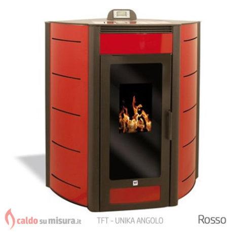 TFT-unika-angolo-rosso-termostufa-pellet
