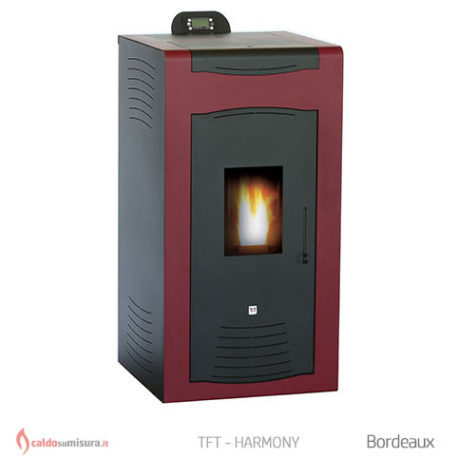TFT harmony bordeaux termostufa policombustibile