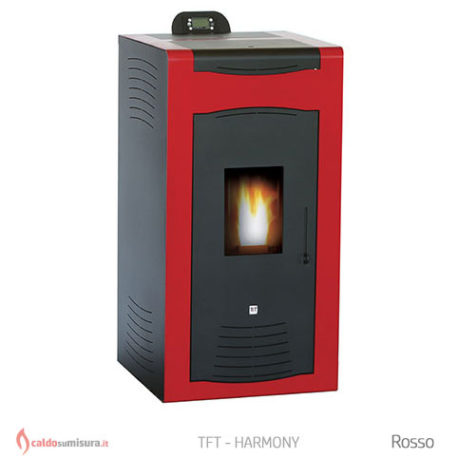 TFT harmony rosso termostufa biomassa