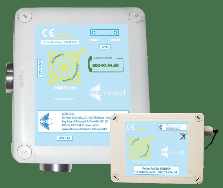 solubilizzatore domus con battery pack