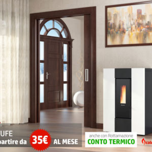 stufe a pellet slim la nordica