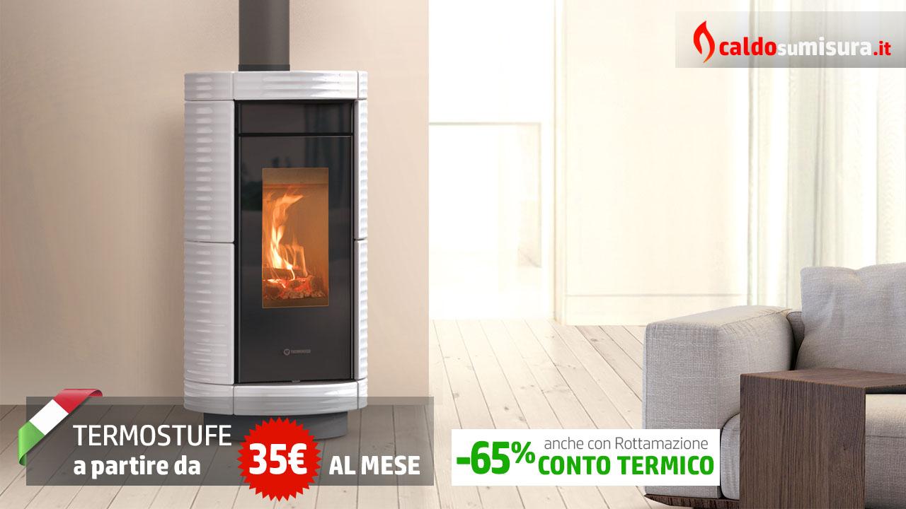 termostufe a pellet moderne