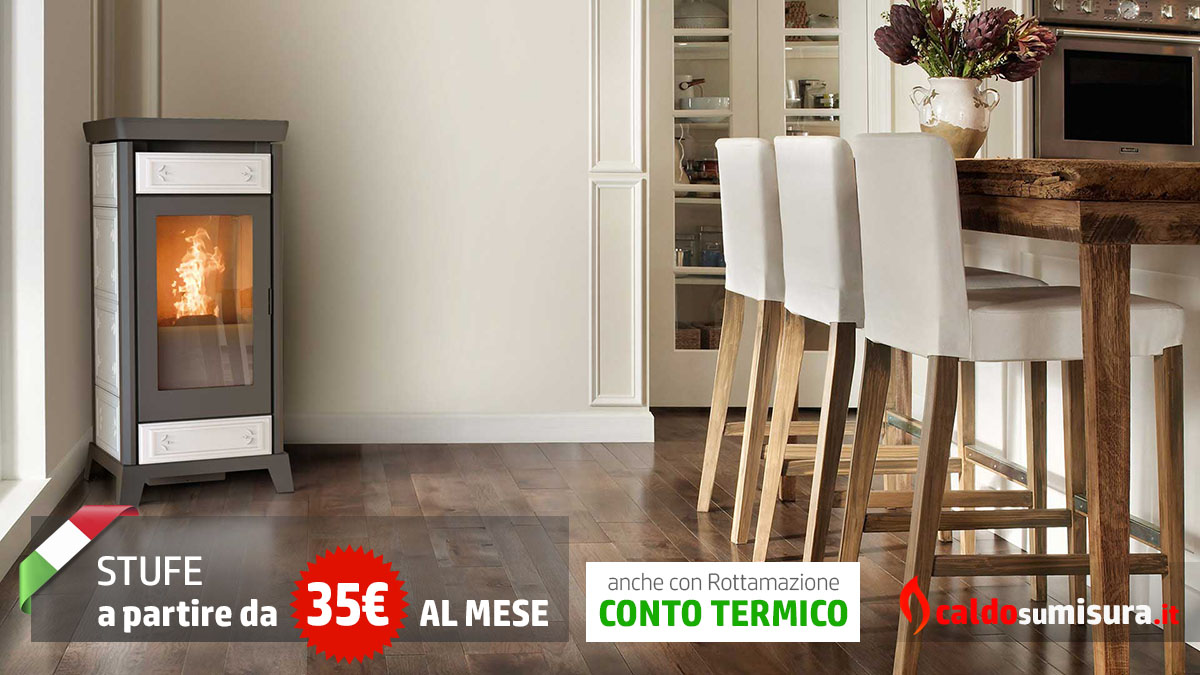 thermorossi stufe a pellet ad aria