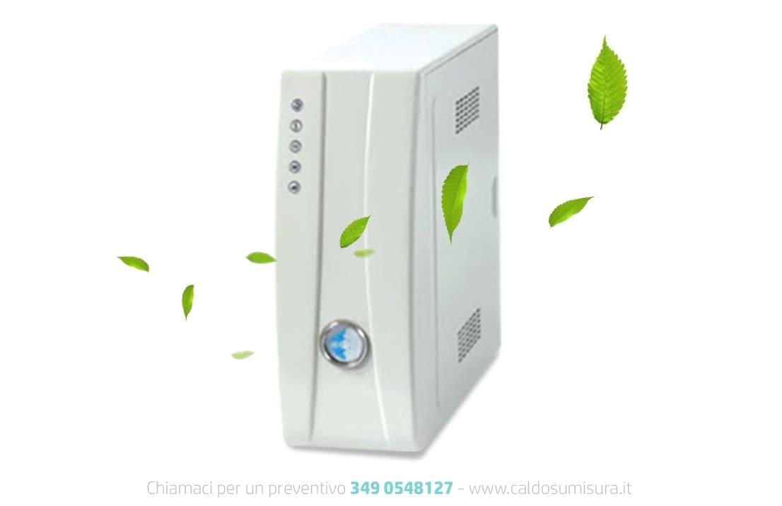 purificatori aria mai più senza ozono